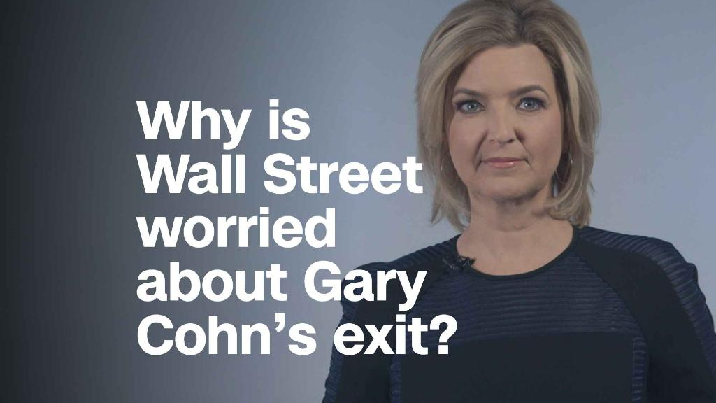 Why is Wall Street disturbed about Gary Cohn's exit?
