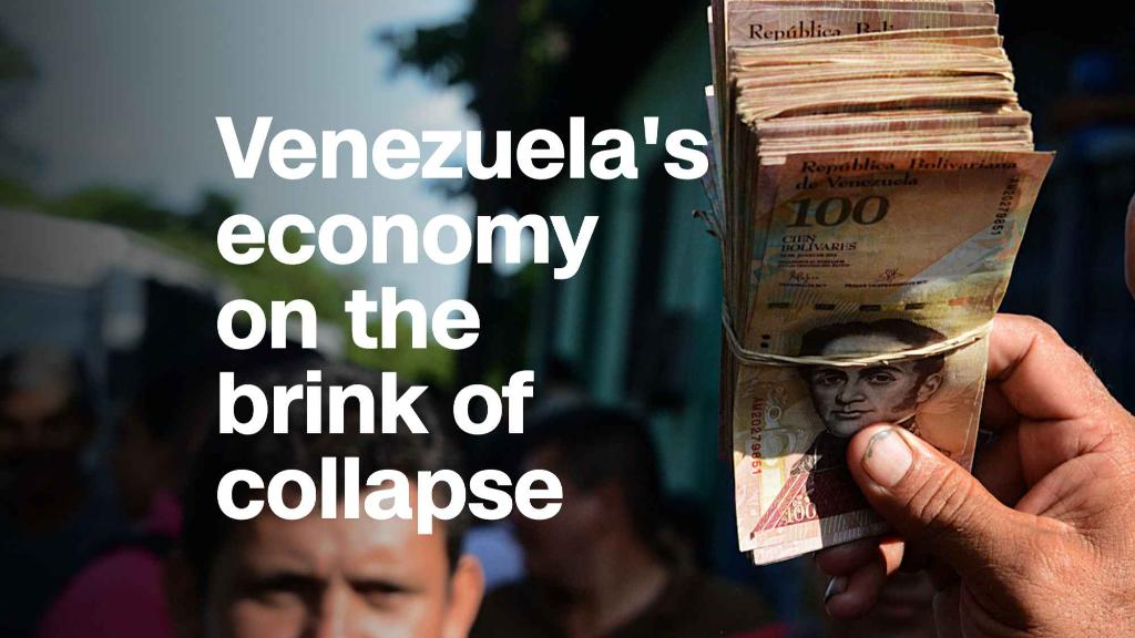 Venezuela's economy on a margin of collapse