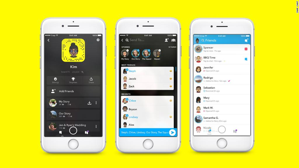 Will a redesign assistance woo new Snapchat users?